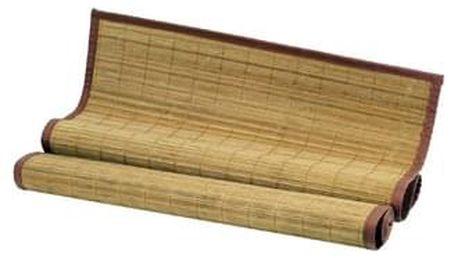 Rohož za postel bambusová TH-C023-BR, barva hnědá
