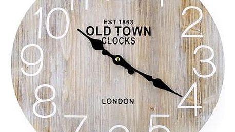 Nástěnné hodiny Old Town, 34 cm