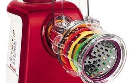 Elektrický strouhač Tefal FreshExpress Max MB813538 bílý/červený