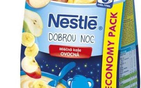 6x NESTLÉ Mléčná kaše Dobrou Noc - ovocná (300 g)