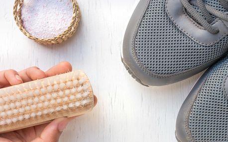 Profi čištění bot: povrch, podrážky i dezinfekce