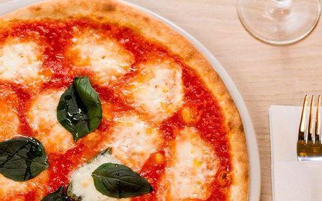 2 křupavé pizzy dle výběru o průměru 32 cm