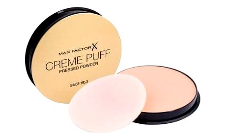 Max Factor Creme Puff 21 g kompaktní pudr pro ženy 55 Candle Glow