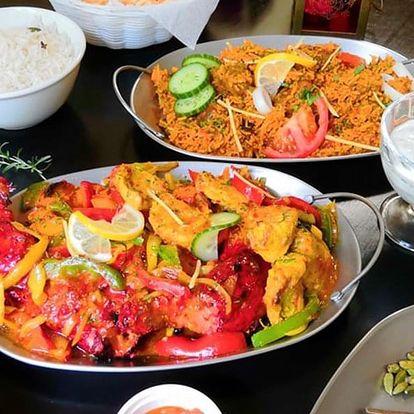 Indické speciality ve Frýdku-Místku pro 2 i partu