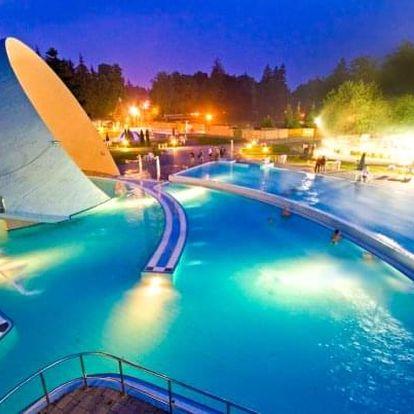 Miskolc Tapolca: Park Hotel *** s wellness a celodenním vstupem do lázní