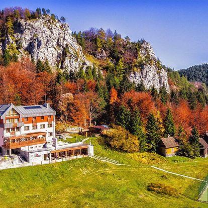 Jaro či léto v NP Velká Fatra: polopenze a wellness