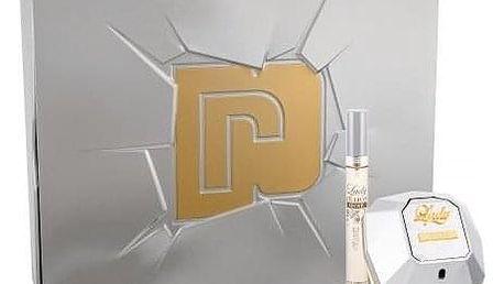 Paco Rabanne Lady Million Lucky dárková kazeta pro ženy parfémovaná voda 80 ml + parfémovaná voda 10 ml