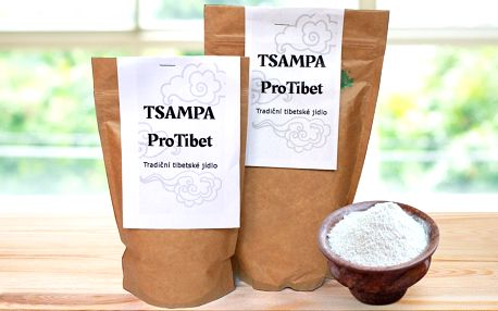 Tsampa: tradiční tibetské jídlo z praženého ječmene