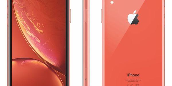 Mobilní telefon Apple iPhone XR 128 GB - coral (MRYG2CN/A)3