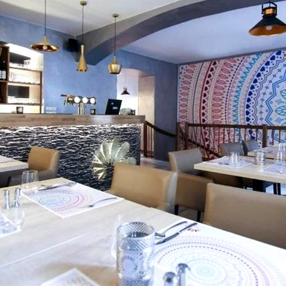 Voucher do indické restaurace: 500 a 1000 Kč