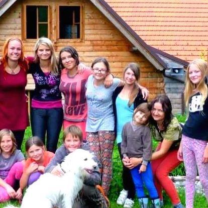 Prázdniny jak se patří: dětský letní tábor s koňmi