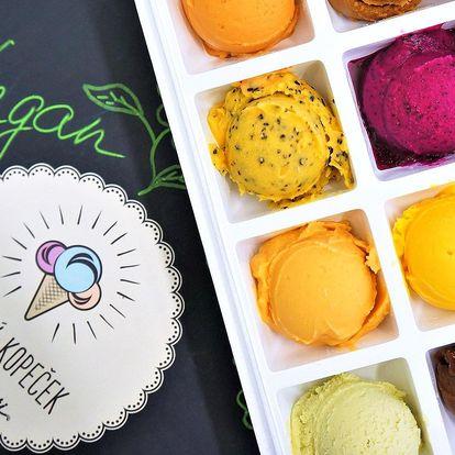 Božský kopeček: 6 nebo 12 veganských zmrzlin