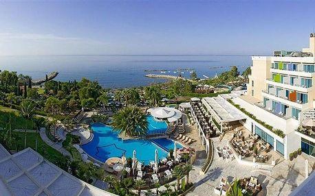 Kypr - Limassol na 8 až 12 dní, snídaně s dopravou letecky z Prahy, přímo na pláži