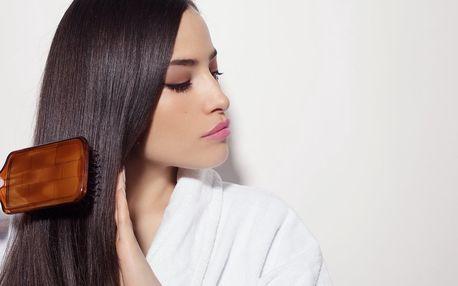 Střih pro polodlouhé a dlouhé vlasy s keratinem
