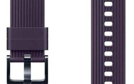 Samsung silikonový pro Galaxy Watch ET-YSU81M 20mm fialový (ET-YSU81MVEGWW)