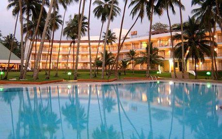 Srí Lanka - Waduwa na 8 dní, polopenze s dopravou letecky z Prahy, přímo na pláži