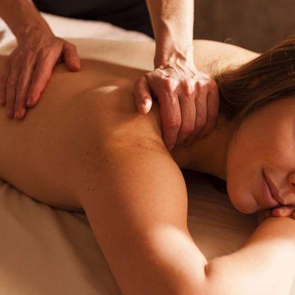 Masáž pro úlevu krční páteře, lopatek a ramenou