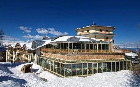 Itálie - Monte Bondone na 5 až 8 dní, polopenze s dopravou vlastní