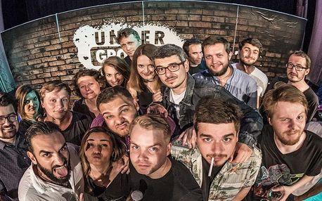 Stand-up s komiky z Underground Comedy v Hradci Králové