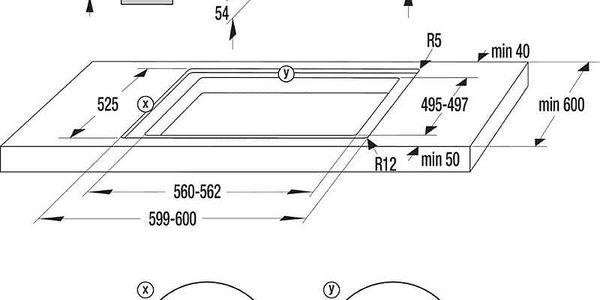 Indukční varná deska Mora VDIT 650 X černá2