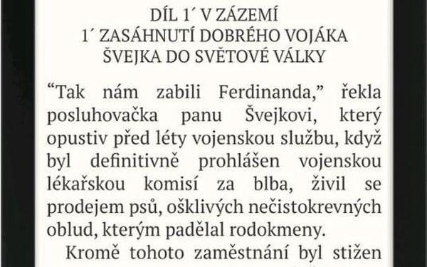 Čtečka e-knih Pocket Book 616 Basic Lux 2 černá (PB616W-H-WW)2