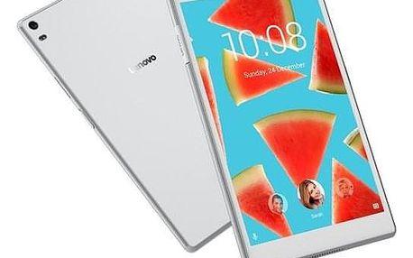 "Lenovo TAB4 8"" PLUS LTE 64 GB bílý (ZA2F0078CZ)"