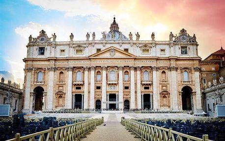 Rím - metropola Talianska - Itálie na 5 dní, polopenze nebo snídaně s dopravou autobusem