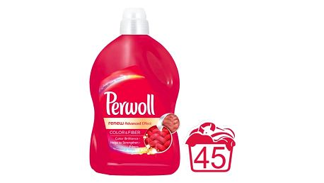 PERWOLL Renew Advanced Color 2,7 L (45 dávek) – prací gel