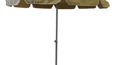 Tradgard 57136 Zahradní slunečník - 2,5 m béžový
