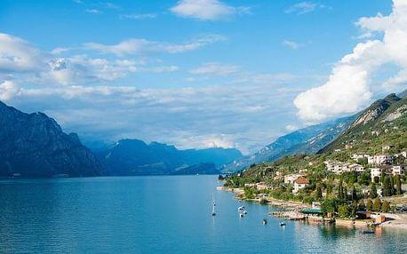 Lago di Garda: 4 - 8 dní v Hotelu Eden *** se snídaní a bazénem + soukromá pláž