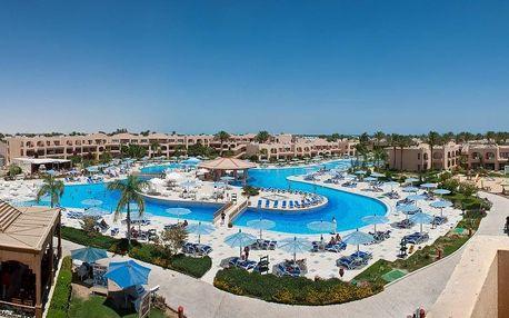 Egypt - Hurghada na 8 dní, all inclusive s dopravou letecky z Prahy nebo Ostravy, přímo na pláži