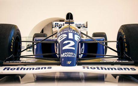 Jízda ve formuli F1 Renault