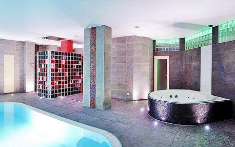 Brněnská přehrada v hotelu se vstupem do wellness a polopenzí