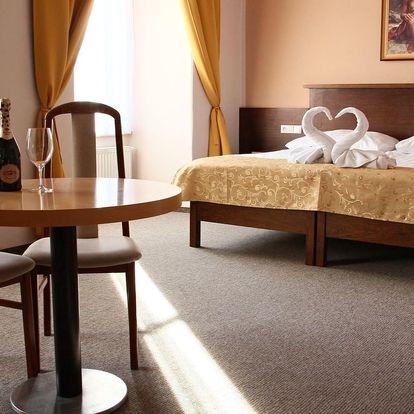 Ubytování na zámku v Napajedlech se snídaní a 2 nebo 3 dny