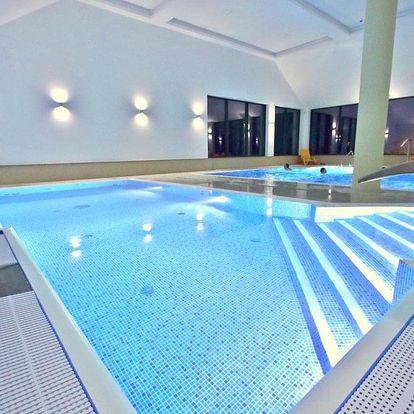 Jižní Polsko, luxusní hotel Nowy Zdrój**** s bazény a saunovým světem, Polsko