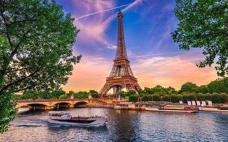 Magická Paříž s návštěvou Eiffelovy věže, Paříž, Francie