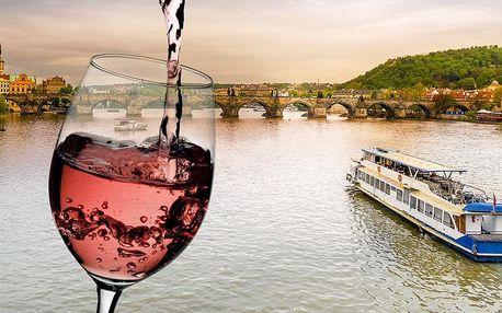 Plavba na Vltavě s degustací vín a koktejlů