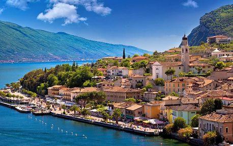 Z Říma na sever přes Benátky, Veronu, Florencii a Lago di Garda, Itálie