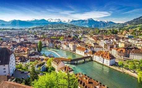 Švýcarsko s výletem do Chamonix a lanovkou k masivu Mont Blanc s ubytováním se snídaní, Ženeva, Švýcarsko