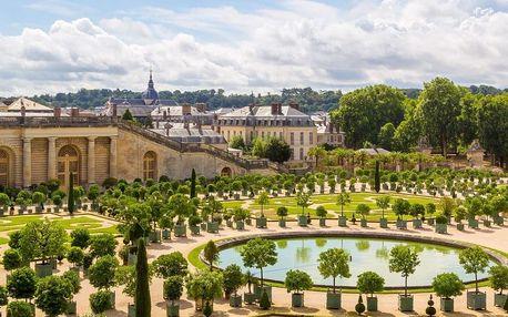 Paříž s návštěvou zámku Versailles, Paříž, Francie
