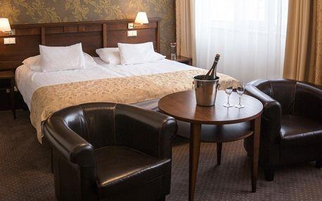 Luxusní pobyt v 5* hotelu ve Zlíně s polopenzí na 2 až 3 dny