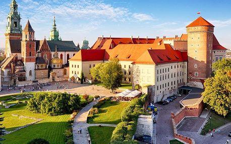Osvětim, Březinka, solné doly Wieliczka a Krakow s ubytováním se snídaní a vstupem do Osvětimi, Krakow, Polsko