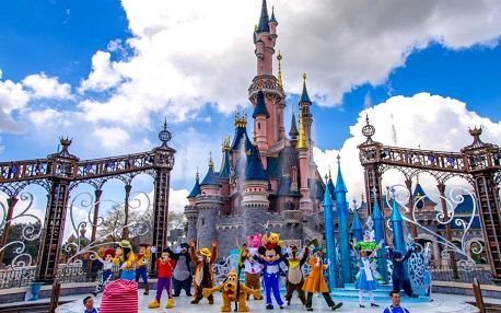 Pohádkový zájezd do Paříže a Disneylandu - Eiffelova věž, mořský svět i známá ZOO, Paříž, Francie