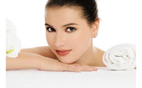 Relaxační procedura v délce 80 minut - masáž zad a šíje + ošetření pleti s kyselinou hyaluronovou.