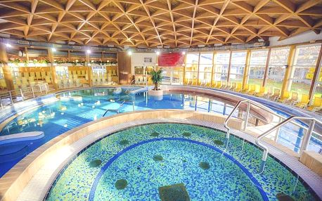 Bük, Caramell Premium Resort**** s wellness v orientálním stylu, Bük, Maďarsko
