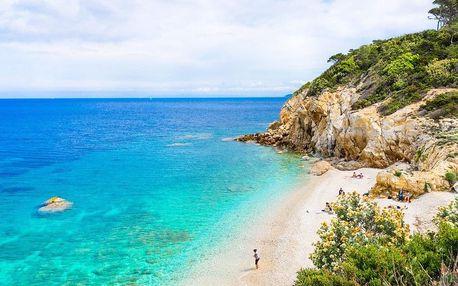 Perly Toskánska a prosluněná Elba, Toskánsko, Itálie