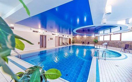 Polské Tatry ve 4* hotelu s neomezeným bazénem, saunami a fitness centrem + polopenze
