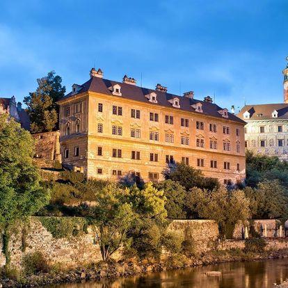 Rodinný penzion v Krumlově u zámku s polopenzí