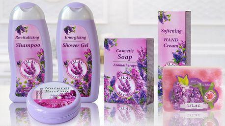 Kosmetika s vůní šeříku: krém, šampon i mýdlo