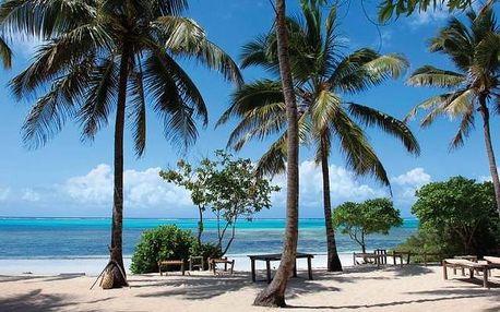 Zanzibar - Kichanga Lodge na 9 dní, polopenze s dopravou letecky z Prahy, přímo na pláži